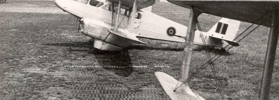 De Havilland DH.89A Dominie D-3 at Evere airbase in the early fifties.