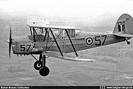 Stampe Vertongen SV-4B V-57 in flight.