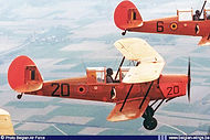 Stampe Vertongen SV-4B V-19 in single seat configuration as it was presented at airshows in the late sixties.