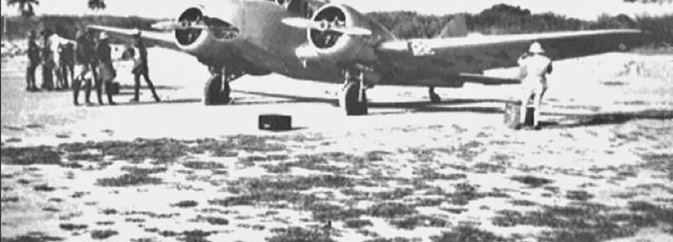 Airspeed Oxford A-25 on a mission to a remote location in Belgian Congo in the early fifties.