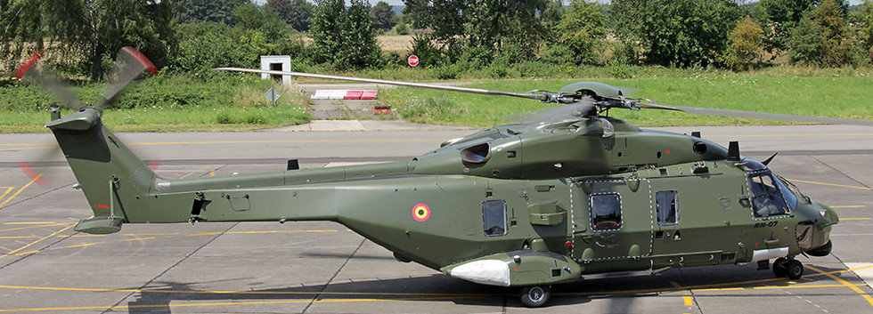 RN07 taxiing out at Beauvechain airbase on 24 July 2014.