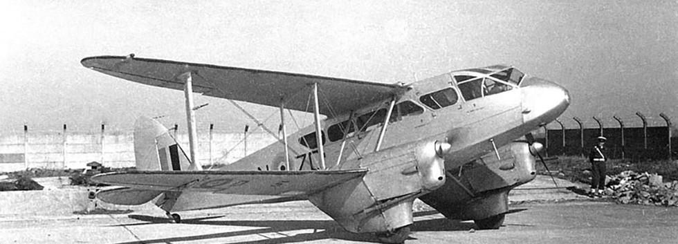 De Havilland DH.89 Dominie D-5/ZC-N in the early fifties.