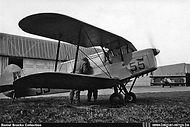 Stampe Vertongen SV-4B V-55 being prepared for a flight at Goetsenhoven airbase.
