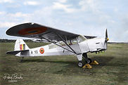 Auster A.O.P. 6 A-13 at Schaffen Diest airfield on 18 March 1952.