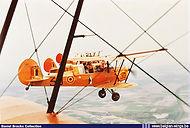 Stampe Vertongen SV-4B V-30 in formation flight.