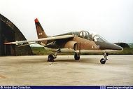 AMB Alpha Jet AT-09 seen at Bierset airbase on May 29th 1983.