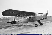 Auster A.O.P. 6 A-4 at an unidentified location in the early fifties.