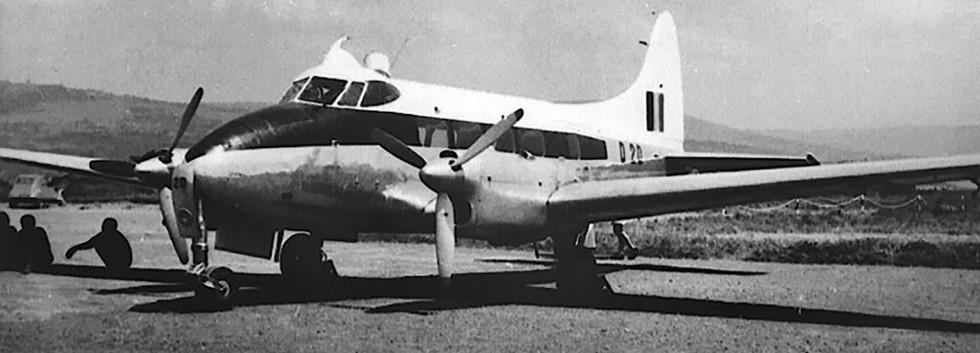 De Havilland DH.104 Dove 1 D20 of the Force Publique/Openbare Macht.