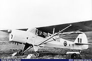 Auster A.O.P. 6 A-11 being started at Schaffen-Diest in the early fifties.