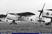 Auster A.O.P. 6 A-21 in a line up at Schaffen Diest in the early fifties.