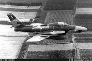 Republic RF-84F Thunderflash FR-9 in flight.