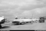 Gloster Meteor T.7 ED-26 in the mid-fiftie
