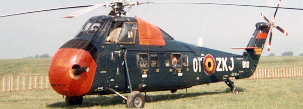 Sikorsky S.58C B-10/OT-ZKJ at an Open-Door at Goetsenhoven airbase in the late sixties.