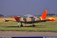 Siai Marchetti SF260 ST-11 at the Goetsenhoven Airshow on 28 August 1986.
