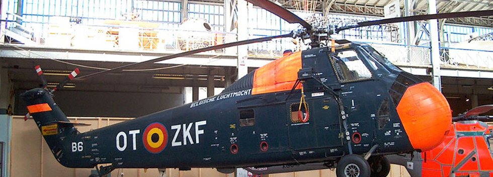 Sikorsky HSS-1 B-6/OT-ZKF at the Royal Army Museum in Brussels on May 21st, 2008.