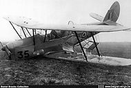 Stampe Vertongen SV-4B V-35 was written off in a crash at Goetsenhoven airbase on 16 February 1959 due to technical problems.