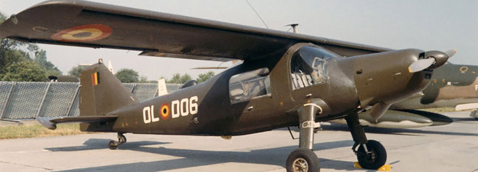 Dornier Do27J D-06 (OL-D06) of the Belgian Army's Light Aviation at the Beauvechain airshow on 28 June 1970.