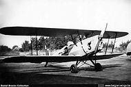 Stampe Vertongen SV-4B V-3 painted silver and still having open cockpits.