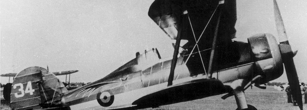 Gloster Gladiator I G-34.