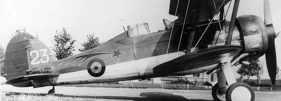 G-23 at Nivelles Airbase in August 1938