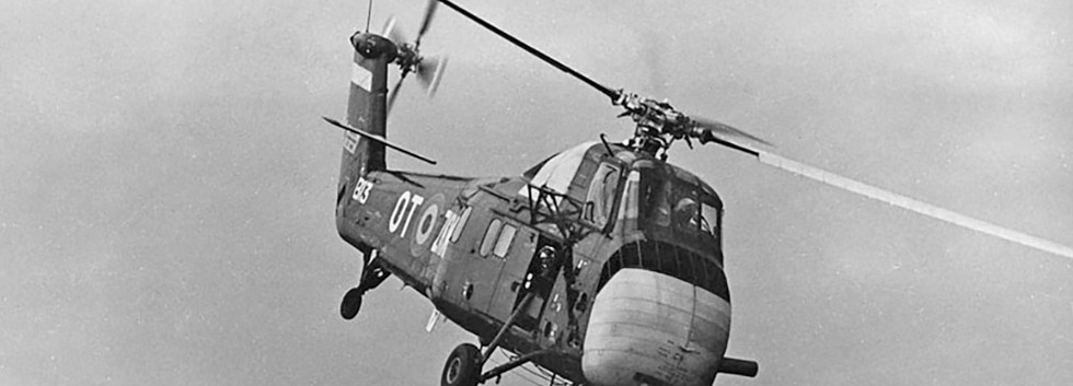 Sikorsky S.58C B-13/OT-ZKM at the Beauvechain Airshow on June 25th, 1966.