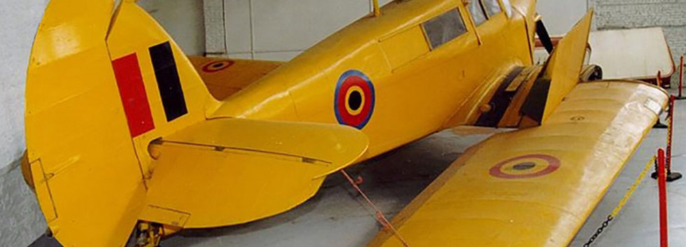 Percival Proctor P-4 as preserved at the Brussels' Royal Army Museum.