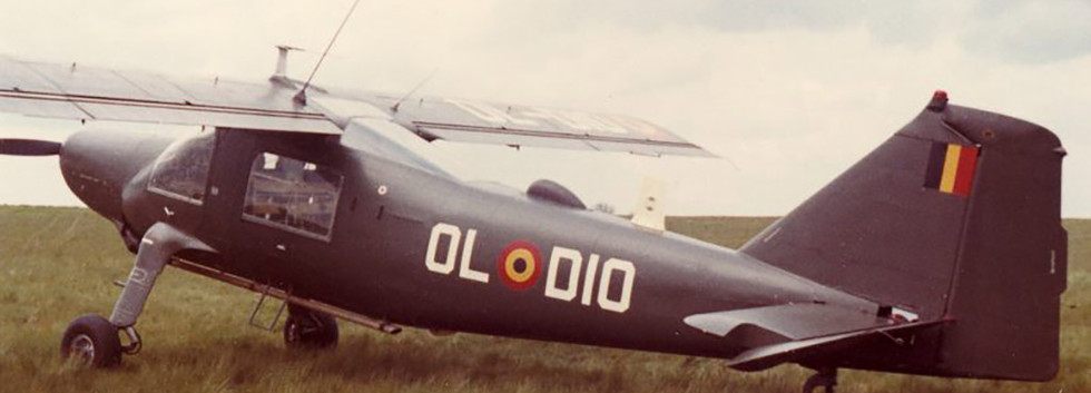 Dornier Do27J OL-D10 in the early-seventies.