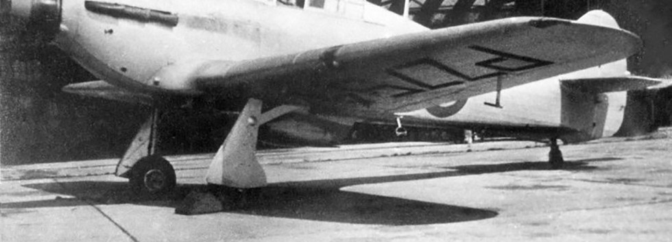 Hawker Hurricane IIB PZ754 of the Allied Flight Metropolitan Communications Squadron, most probably at Evere in 1946.  Notice the Belgian tri-colore spinner.