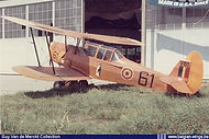 Stampe Vertongen SV-4B V-61 in the static display of the Koksijde airshow on August 10th, 1969 (to be confirmed).