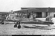 Stampe Vertongen SV-4B V-9 of the Koksijde based DEVS (Detachement Elementaire Vliegschool) or DEPE (Détachement Ecole de Pilotage Elémentaire) seen (most probably) at Goetsenhoven.