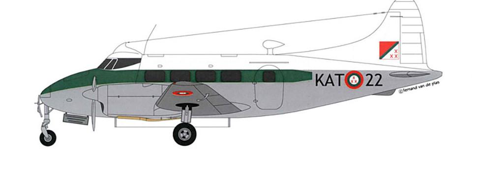 De Havilland DH.104 Dove 5 KAT-22 of the AviKat.