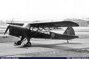 Auster A.O.P. 6 A-7 seen at Wahn airbase (D.) in 1955.