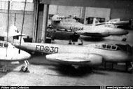 Gloster Meteor T.7 ED-30 at Fairey Gosselies.