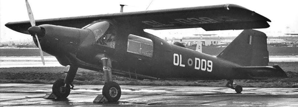 Dornier Do27J OL-DO09 at Melsbroek airbase in February 1969.