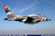 On 28 & 29 June 2004 the 1st Training Wing based at Beauvechain organised the first Trainer Meet and for the occasion Alpha Jet AT18 received this special colour scheme.