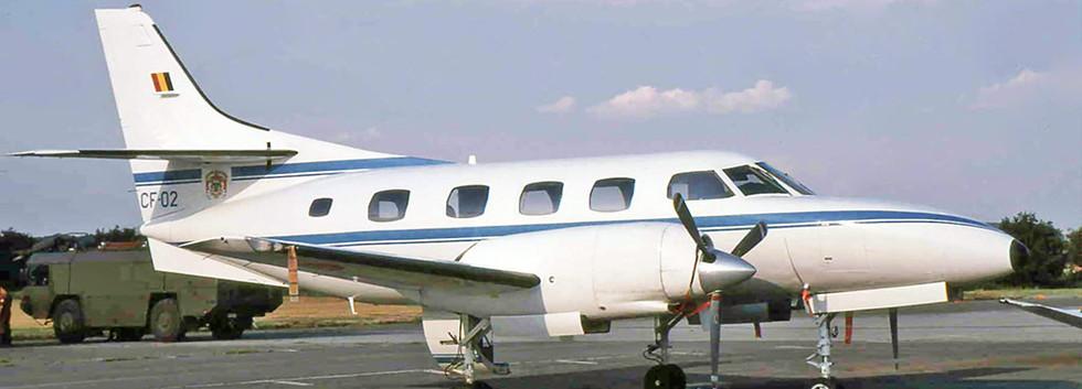 CF-02 at Melsbroek airbase in September 1993.