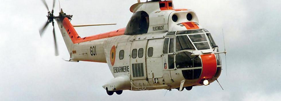 Aerosptaila Puma G-01 in Flight