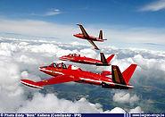 Fouga Magister MT26 in formation break