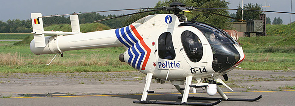 MD Helicopters MD520N G-14 at Beauvechain airbase 15 September 2005.