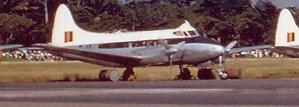 De Havilland DH.104 Dove D-17 at Stanleyville in 1959