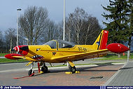 Siai Marchetti SF260 ST-09 as instructional airframe at the Campus Saffraanberg on 09 March 2008.
