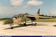 AMD Alpha Jet AT-06 on the flightline of Brustem airbase on September 1st, 1984.