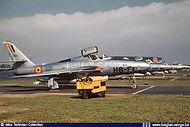 Republic RF-84F Thunderflash FR-6 / H8-F at Wahn/Köln (D.) airbase in the fifties.
