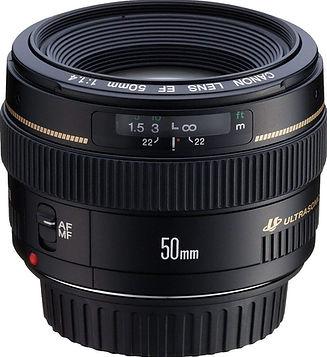 50mm f/1.4 lens