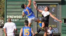 Match Reports: Round 2 vs Ringwood -  ANZAC Weekend