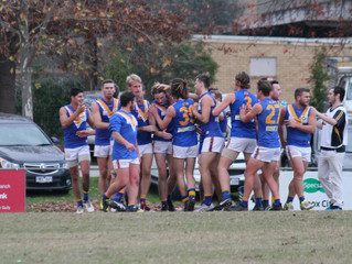 Match Reports: Round 8 vs Ferntree Gully
