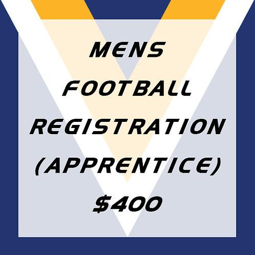 Senior Football Player Registration (apprentice, first year)