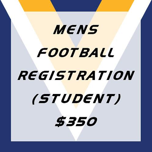 Senior Football Player Registration (Student)