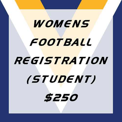 Womens Football Player Registration (Student)