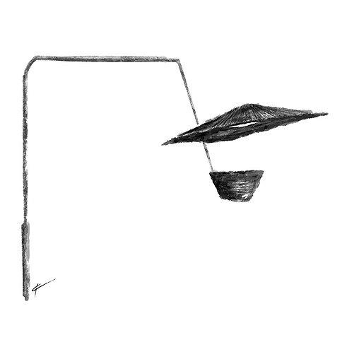 G25 Wall Lamp Print